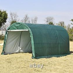 10x15 FT Canopy Carport Tent Car Shed Outdoor Storage Cover Heavy Duty SUN Proof