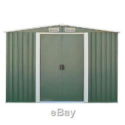 3 Sizes Garden Storage Shed All Weather Tool Utility Outdoor Patio Backyard Lawn