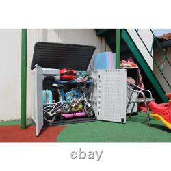 4 ft. W x 2 ft. 5 in. D Plastic Horizontal Storage Shed