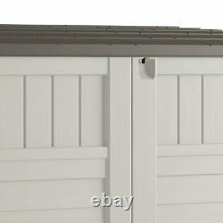 53 x 31.5 x 45.5 Horizontal Resin Outdoor Storage Shed with Floor
