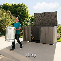 75 cu. Ft. Horizontal Rough Cut Storage Shed with 5 Year Warranty
