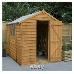 8x6 Stormproof Heavy Duty Shed Garden Playhouse 8ftx6ft Mini House Brand New