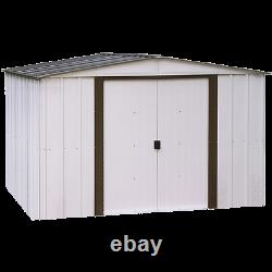 Arrow Sheds 10x8ft Newburgh Outdoor Garden Steel Storage Shed