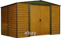 Arrow Sheds Euro Dallas Woodridge 10x12ft Steel Storage Garden Shed Kit