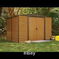 Arrow Sheds Woodridge Steel Outdoor Storage Shed, 10 ft. X 6 ft