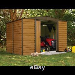 Arrow Sheds Woodridge Steel Outdoor Storage Shed 10 ft. X 8 ft