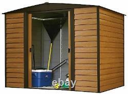 Arrow Sheds Woodridge Steel Storage Shed 8 ft. X 6 ft