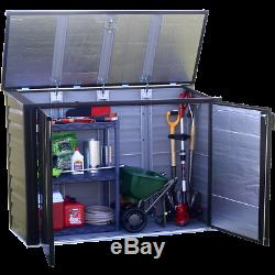 Arrow Storage Products Spacemaker Versa-Shed Steel Storage, 5 ft. X 3 ft