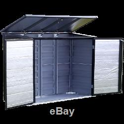 Arrow Storage Products Spacemaker Versa-Shed Steel Storage, 6 ft. X 3 ft