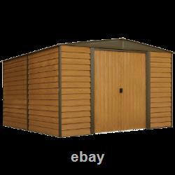 Arrow Storage Products Woodridge Steel Storage Shed, 10 ft. X 12 ft
