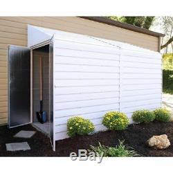 Arrow Storage YS410 4' x 10' Yardsaver Shed