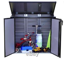 Arrow Versa-Shed Locking Horizontal Storage Shelter 37H x 27 W x 22L NEW