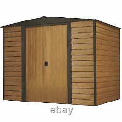 Arrow Woodridge Storage Building 8ft. 4in. X 6ft. X 6ft. 8in. Model# WR86