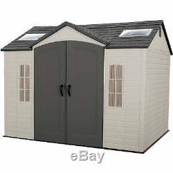 Backyard Storage Shed Garage Tool Kit Patio Deck Garden Lawn Building 8' x 10