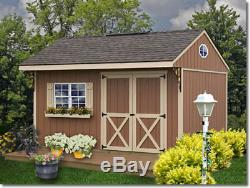 Best Barns Northwood 14x10 Wood Storage Shed Kit ALL Pre-Cut