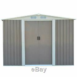 Heavy Duty Steel Shed Garden Storage Tool House Outdoor Patio Toolshed Farmshed