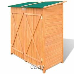 Home Wooden Shed Garden Tool Shed Storage Room Large Outdoor Cabin House US