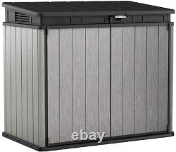 KETER Elite Store 4.6 X 2.7 Foot Resin Outdoor Storage Shed With Easy Lift Hinge