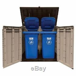 Keter 4 ft. Tall Store-It-Out Max Resin Patio Outdoor Garden Storage Shed
