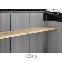 Keter Grande-Store 6.25 ft. W x 3.58 ft. D x 4.34 ft. H Resin Horizontal Shed