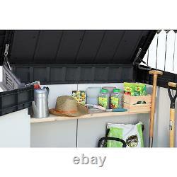Keter Premier XL 41 cu. Ft. Horizontal Outdoor Storage Shed