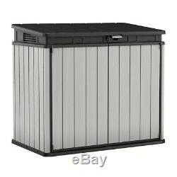 Keter Premier XL 41 cu. Ft. Horizontal Storage Shed