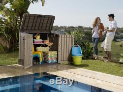 Keter Store-It-Out MIDI 4.3 x 2.5 Outdoor Resin Horizontal Storage Shed