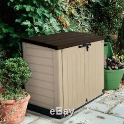 Keter Store-It-Out Max Shed shelf support Lockable Outdoor Garden Tool Storage