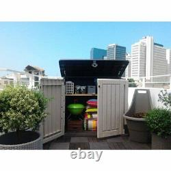 Keter Store-It-Out Midi 30-Cu Ft Resin Storage Shed, All-Weather Plastic Outdoor