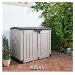 Keter Store It Out arc Outdoor Plastic Garden Storage Shed