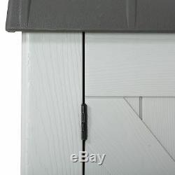 LIFETIME HORIZONTAL DECK STORAGE BOX SHED 3 ft x 6 ft 75 cu ft plastic pvc