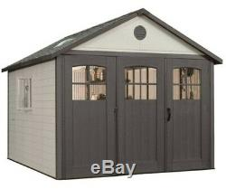 Lifetime 11x18 Storage Garage Kit with 9ft Wide Doors 60236