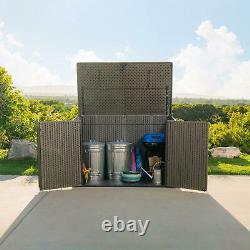 Lifetime 75 Cu. Ft. Horizontal Storage Shed, 561 Gallons, Lockable Doors