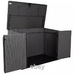 Lifetime 75 cu. Ft. Horizontal Storage Shed Free Shipping