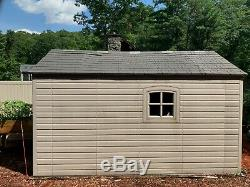 Lifetime 8 Ft. X12.5 Ft. Outdoor Storage Shed Good Condition