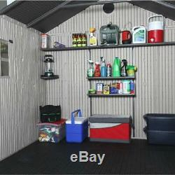 Lifetime 8 ft. X 12.5 ft. Outdoor Storage Shed-6402