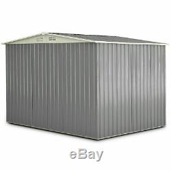 Metal Outdoor Storage Shed Kit Garden Backyard Toolshed DIY House Heavy Duty 6x8