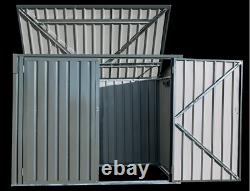 NEW Horizontal Storage Shed Charcoal FAST SHIPPING