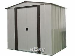 Newburgh 6x5 Storage Shed Coffee / Eggshell