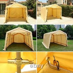 Outdoor Canopy Carport Tent Car Shelter Garage Storage Shed Sun UV Proof Cover