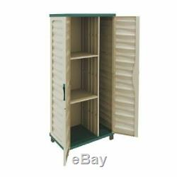 Outdoor Garage Storage Cabinet Tool Garden Shed Horizontal Verical Partition New