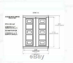 Outdoor Garden Shed Storage Cabinet Plastic Garage Locker Lockable Utility Shelf