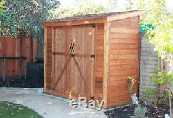 Outdoor Living Today 8X4 SpaceSaver Storage Shed (Double Doors) SS84D