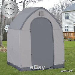 Outdoor Storage Shed 5' x 5' Large Portable House Garage Utility Tool Garden US