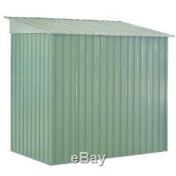 Outdoor Storage Shed Tool House Garden Storage Building Sliding Door Pent Roof
