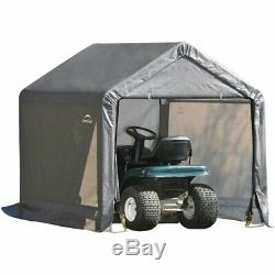 Plastic Storage Shed Outdoor Shelter House Portable Walk In Garden Tools Yard