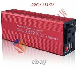 Portable Power Generator Energy Storage Station 55.5Wh with AC/USB Inverter