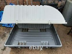 Roof rack Outdoor Storage Cabinet Shed Tool Box Patio Garage Utility Garden Pool