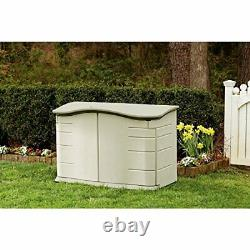 Rubbermaid FG374801OLVSS Small Horizontal Resin Weather Resistant Outdoor