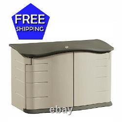 Rubbermaid Horizontal Durable Storage Shed Small